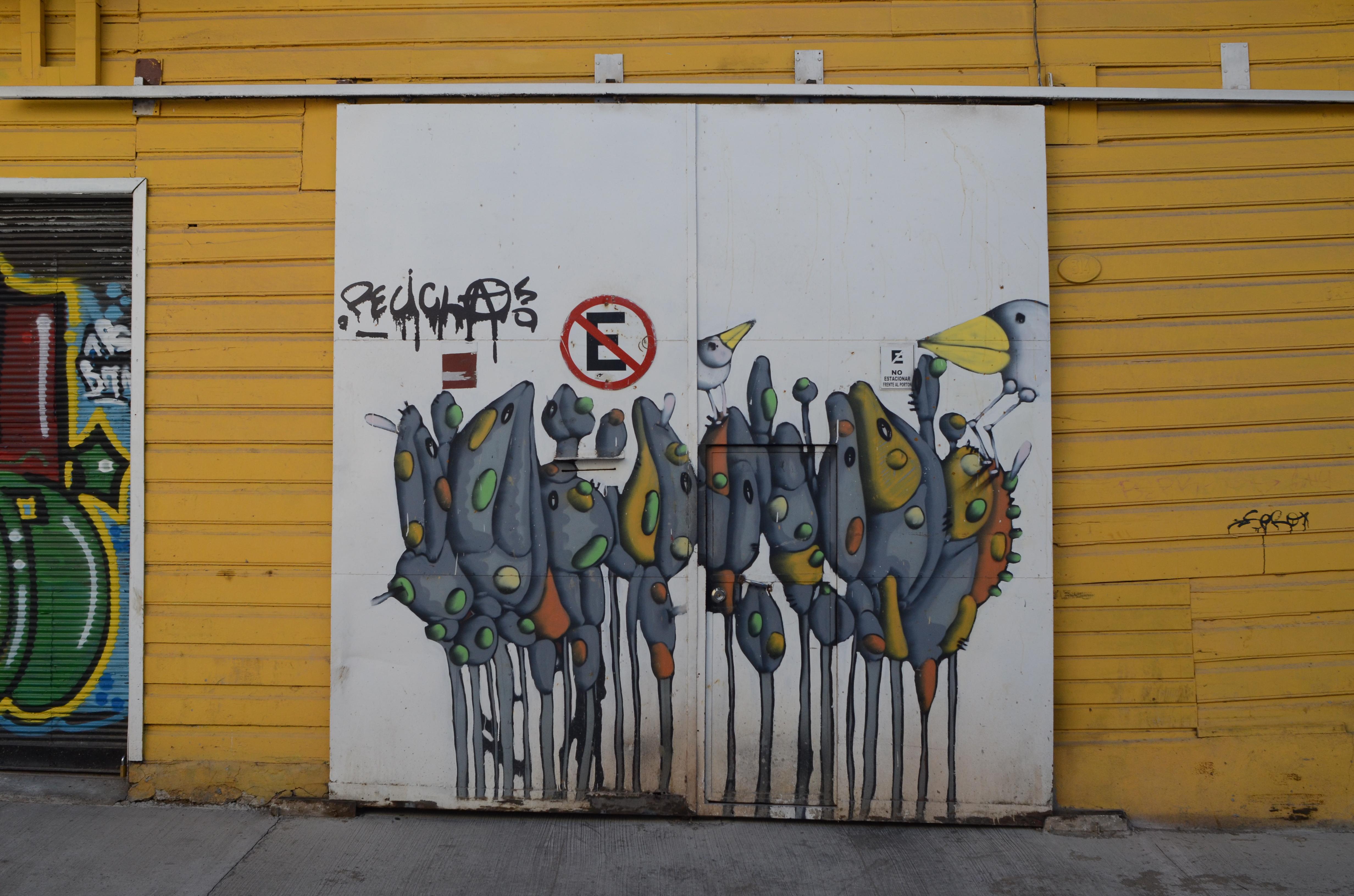 Graffiti Post The Colours Of Valparaiso Chile