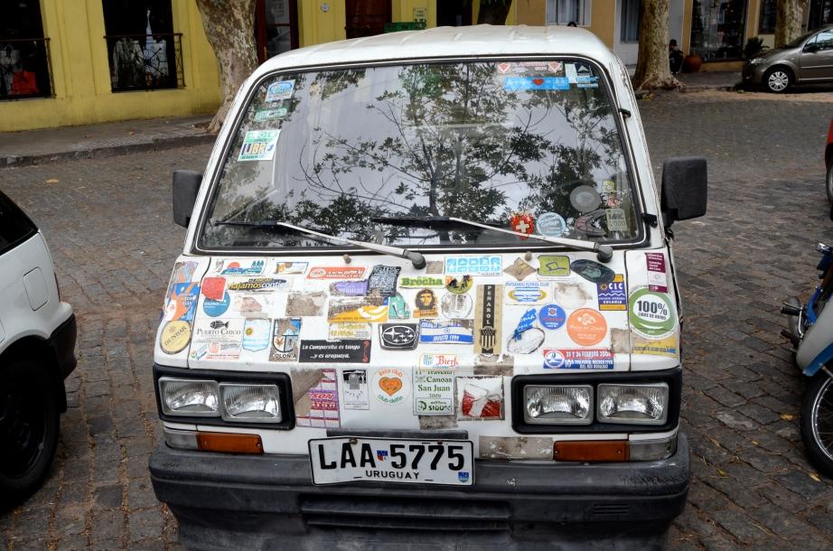 A bumper sticker or two..