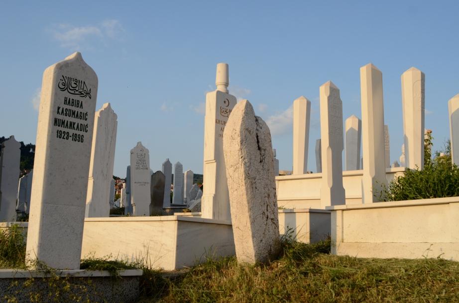 Muslim graveyard..