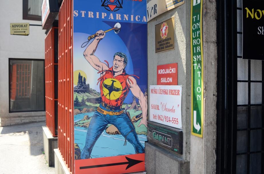 Sarajevo superhero..