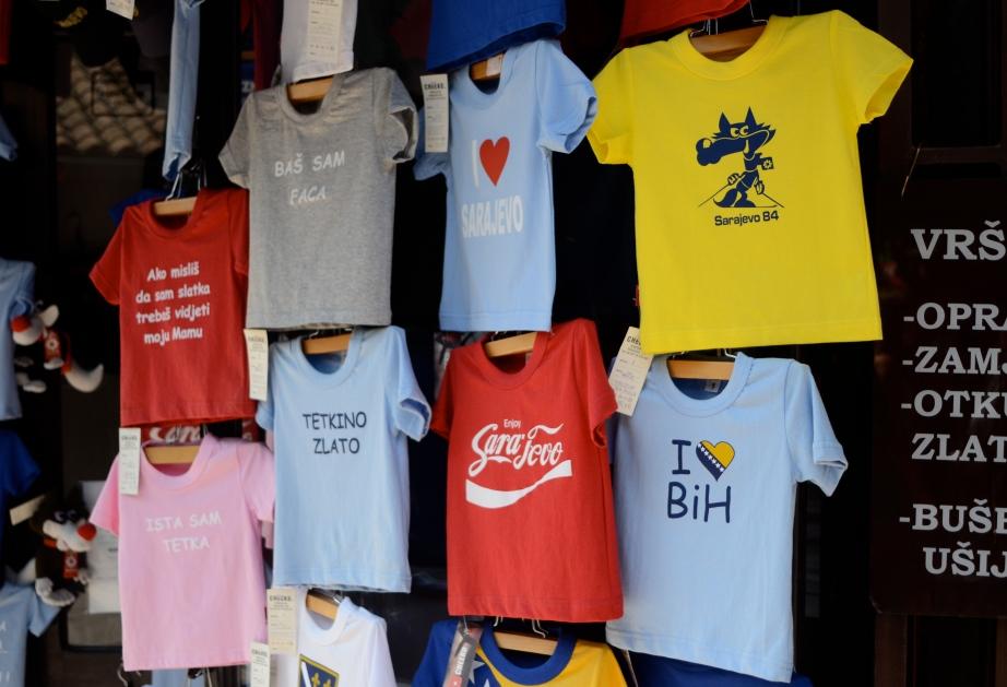 Sarajevo t-shirts..