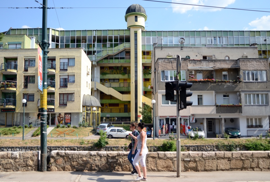 Ugliest building in Sarajevo..