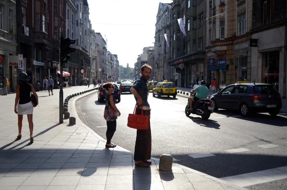 Sarajevo handbag model..