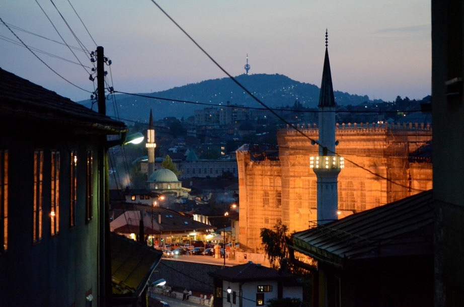 Sarajevo twilight..