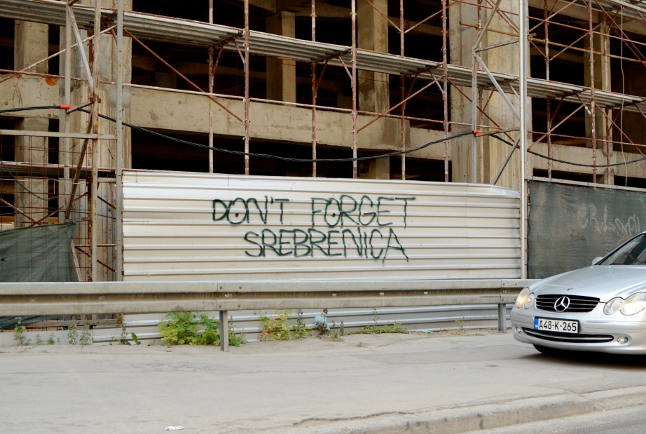 Don't Forget Srebrenica..